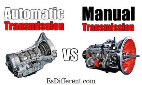 difference between manual transmission and automatic transmission cars