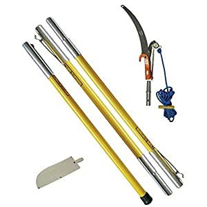 manual pole pruner how to