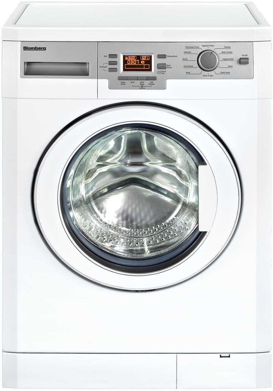 westinghouse front load washer manual