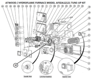 hydro flame 7916 parts manual