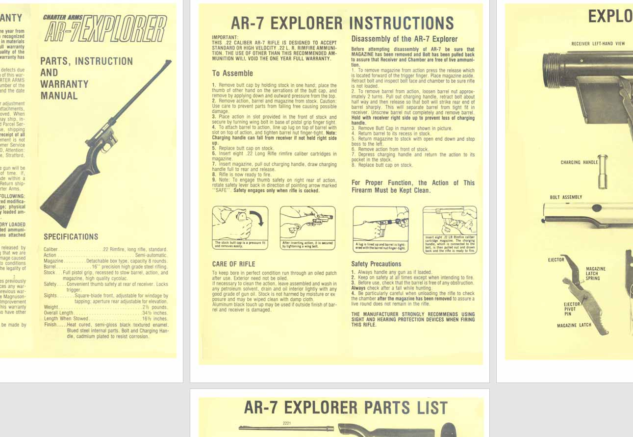 wwii small arms training manual