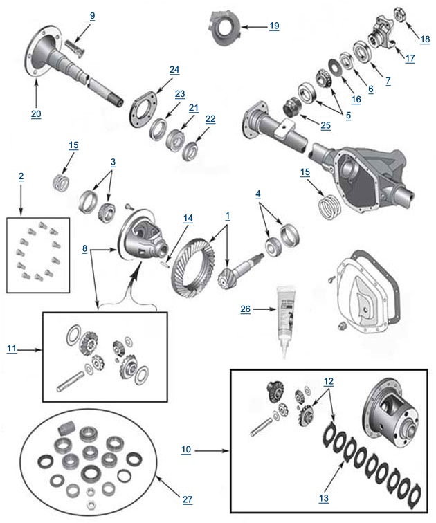 manual transmission clutch and transfercase jeep wrangler 2010