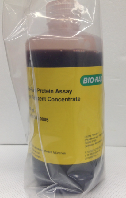 bio rad protein assay dye reagent concentrate manual