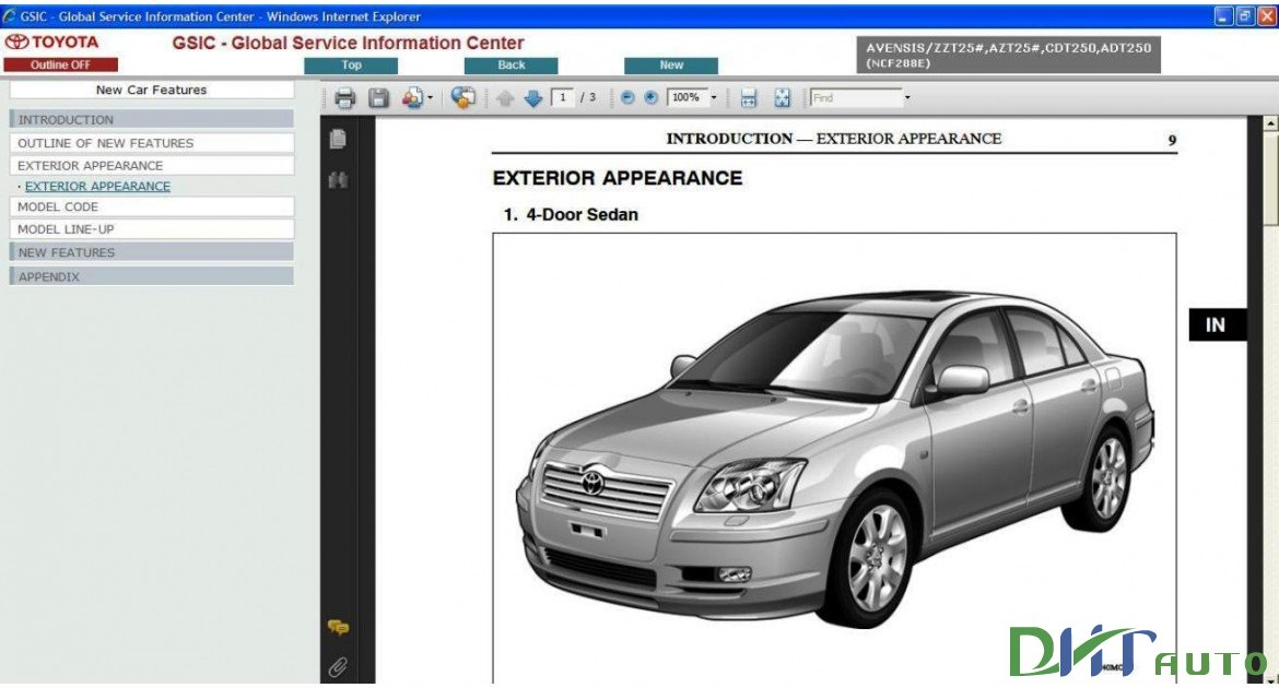 toyota wish 2003 owners manual