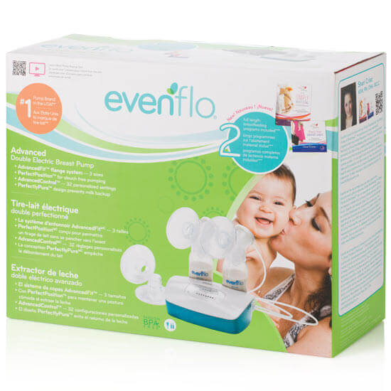 evenflo manual breast pump lost suction