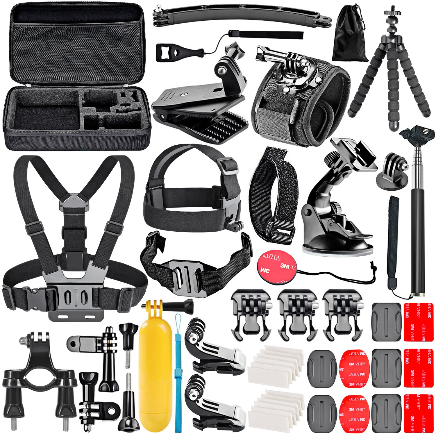 neewer 50-in-1 action camera accessory kit for gopro hero manual