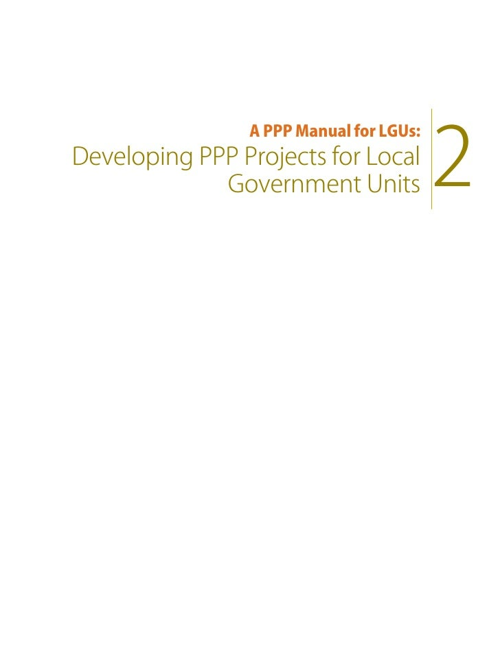 ppp manual for lgus volume 2